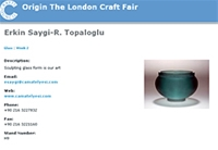 Origin The London Craft Fair