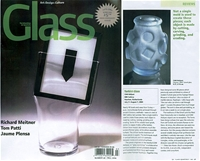 GLASS / The Urban Glass & Art Quarterly - Turkish Glass - Cam Atolyesi